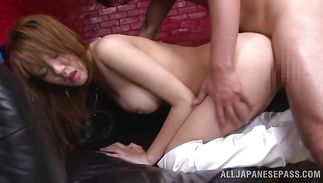 Goluptious chick Yuu Matsuyama got pounded in the soaked cherry in many different positions