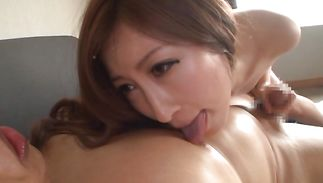 Lascivious gal Reira Aisaki is always ready for a good fuck