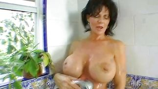 Striking older Deauxma rides a rock solid fuck stick