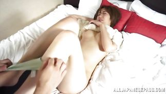 Seductive older playgirl got fucked the way she always wanted until she cummed