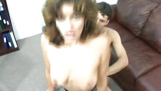 Enjoyable milf got oiled up and fucked very hard