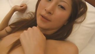 Beautiful Chihiro Hara coercive her hunk to fuck her brains out