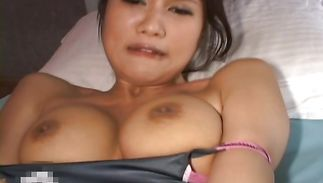 Hardcore chic mature Nozomi with curvy tits know how to put her lips around that love rocket