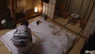 Admirable big titted Buruma Aoi sits down on a wang and she grinds