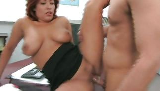 Marvelous latin older Misty Mendez likes taking her dude's sperm