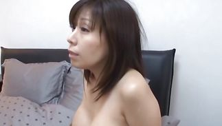 Vicious mature girlie with large tits is eagerly sucking lover