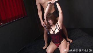 Pal fingers and drills loving cunts of charming mature angel Reiko Shimura