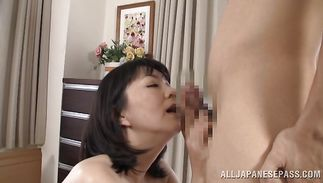 Sultry mature slut Hitomi Enjou is incredible and ready for some sexy banging