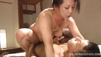 Wanton Neko Ayami gets her face and chick pot drilled in hardcore style