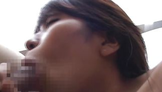 Charming mature bombshell Yuko doesn't mind sucking complete lover's stiff wang