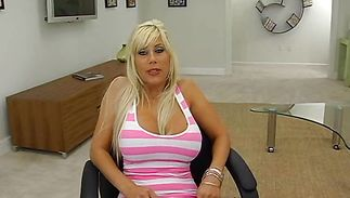 Mouthwatering mature Puma Swede girl enjoys riding a massive and hard ramrod