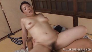Bizarre mature bitch Name Koitoka bangs wildly