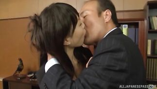 Marvelous gal Airi Mikami is fucking her fellow each once in a while just for enjoyment