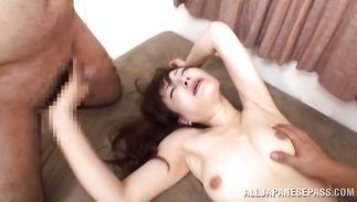 Heavenly maiden and fucker are having a lot of pleasure