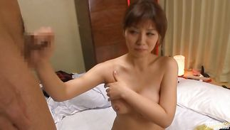 Captivating mature woman Karen Natsuhara has a delightsome pussy that deserves to be eaten