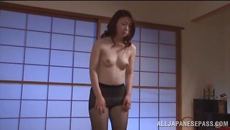 Delightful Midori Takashima receives a hard ramrod in her tight pussy