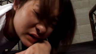 Startling Arisa Yoshikawa gave a irrumation to boyfriend and then he fucked her from behind