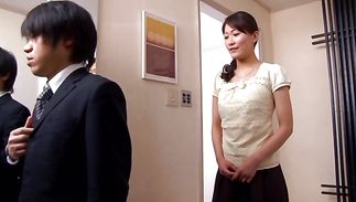 Remarkable girl Miku Aoki wants her pussy gratified