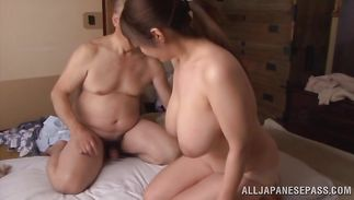 Ravishing mature Ran Niiyama cant wait to get some cock in her snatch
