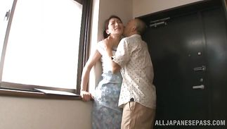 Cunning mature Marina Matsumoto cant wait to be fucked
