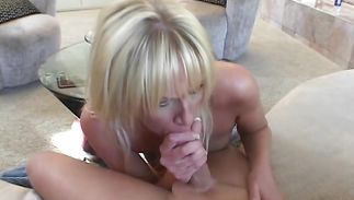 Savory blond babe Ashton and boyfriend are having steamy sex in the middle of the day
