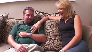 Swingeing sweetie Patricia is deepthroating like a pro and getting drilled hard in the wazoo
