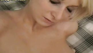 Astounding blonde playgirl Britney is fucking her fellow and enjoying more than she ever did