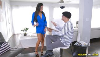 Worshipped perfection Nikki Capone is getting screwed very hard