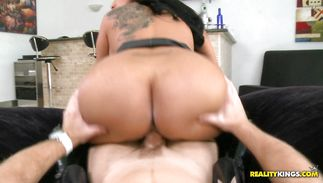 Tempting older latin perfection Kiara Mia is about to have a free sex lesson from her boy