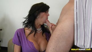 Topnotch aged Alexis Fawx receives a carnal plowing